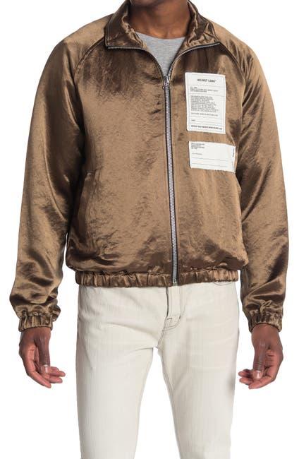 Image of Helmut Lang Satin Track Jacket