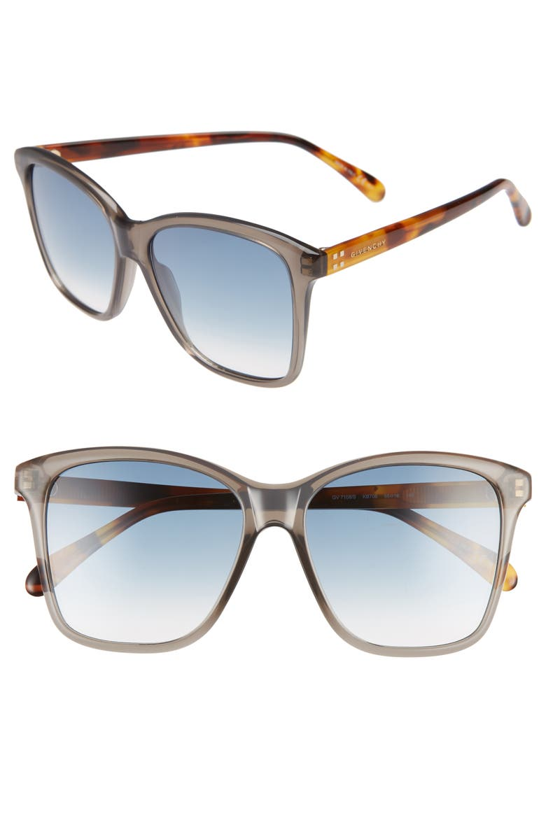 29cc9dca43ff Givenchy 55mm Gradient Square Sunglasses | Nordstrom