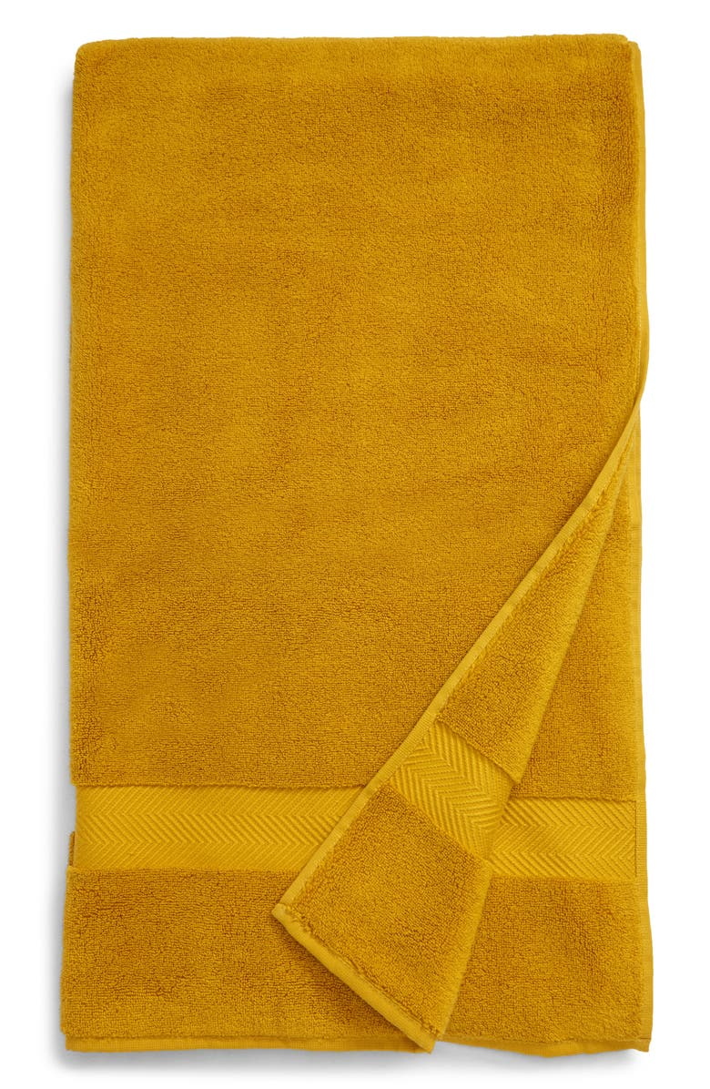 NORDSTROM Hydrocotton Bath Towel, Main, color, OLIVE ARROWWOOD