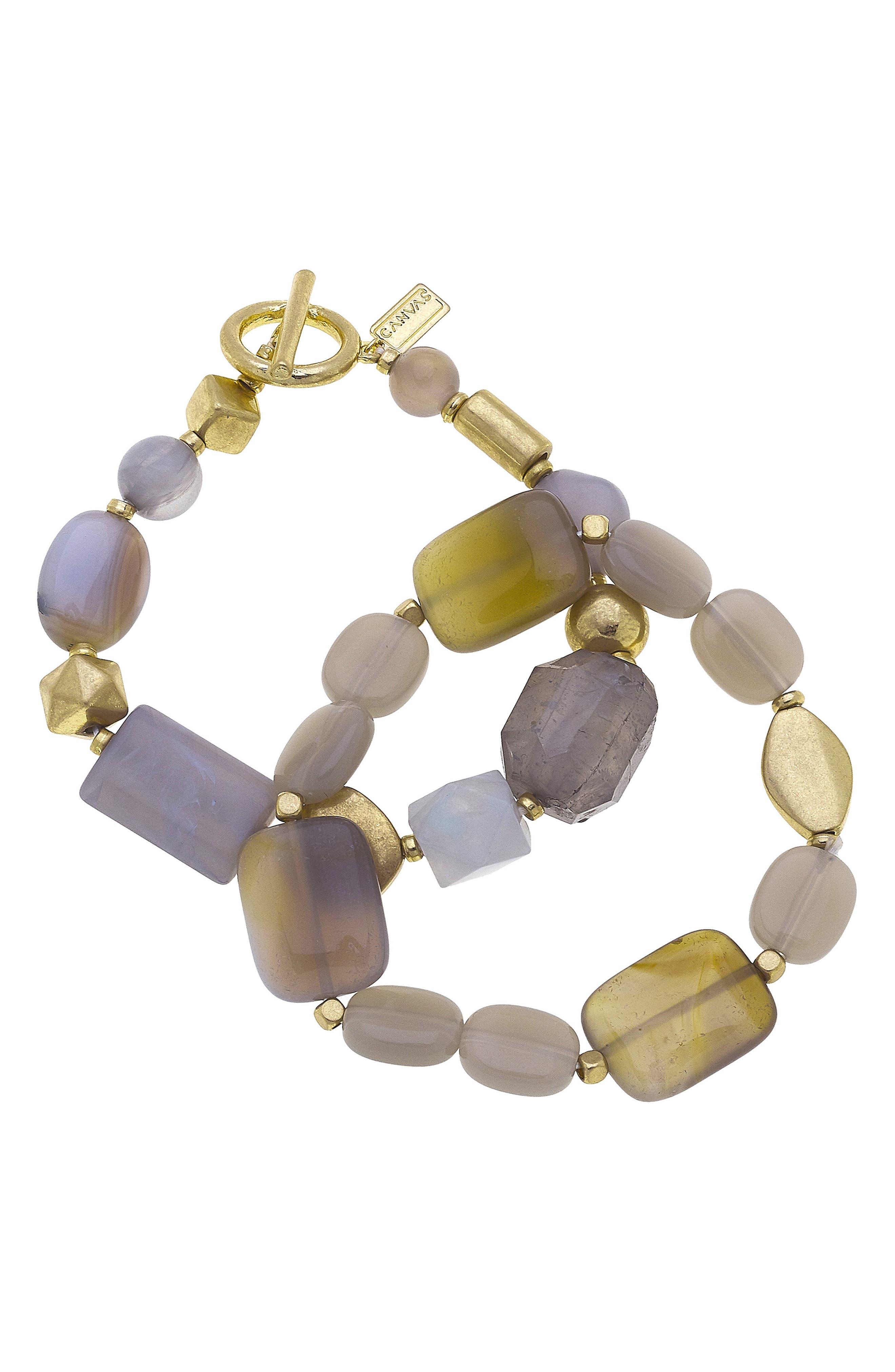 Aerin Set Of Two Stacking Bracelets