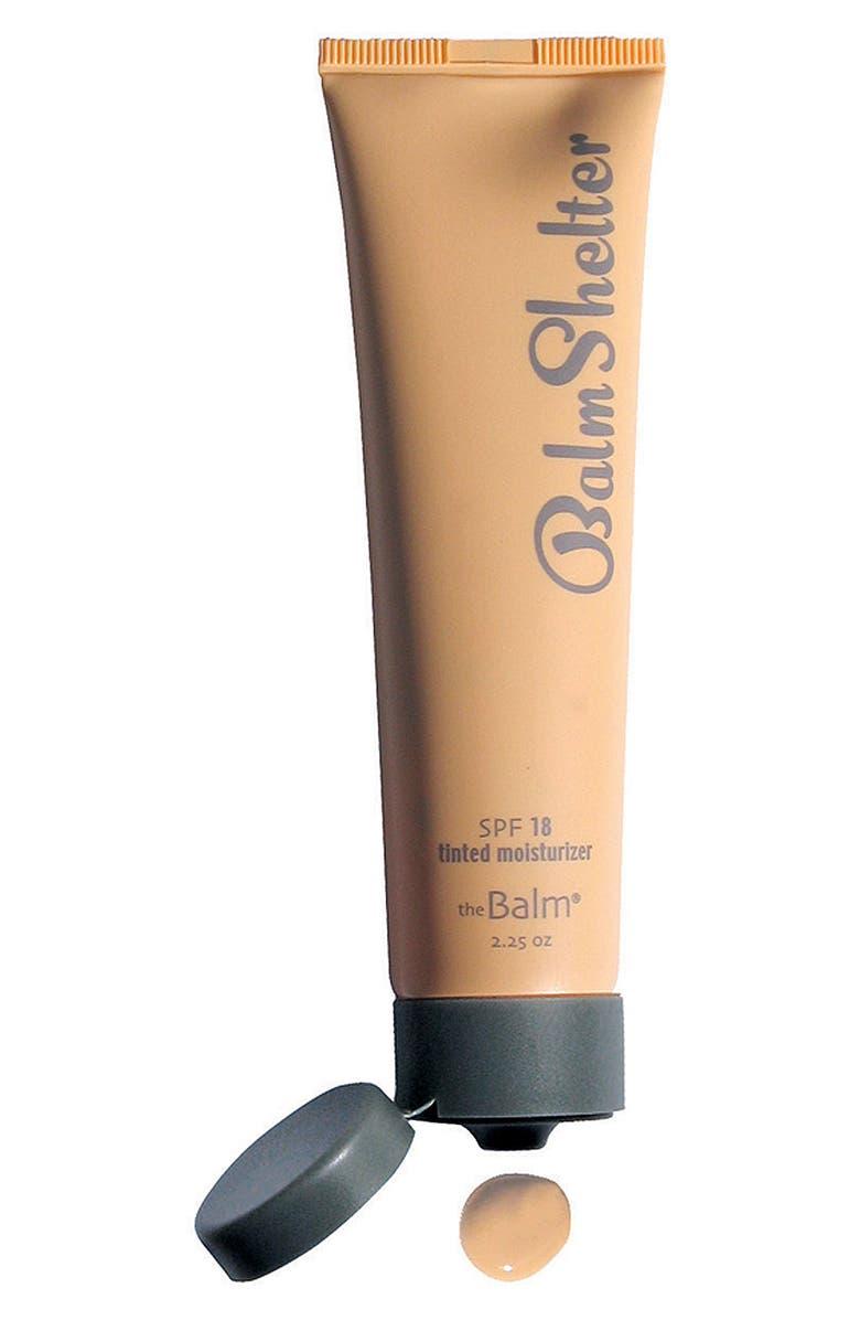 THEBALM<SUP>®</SUP> 'BalmShelter<sup>®</sup>' Tinted Moisturizer SPF 18, Main, color, LIGHT