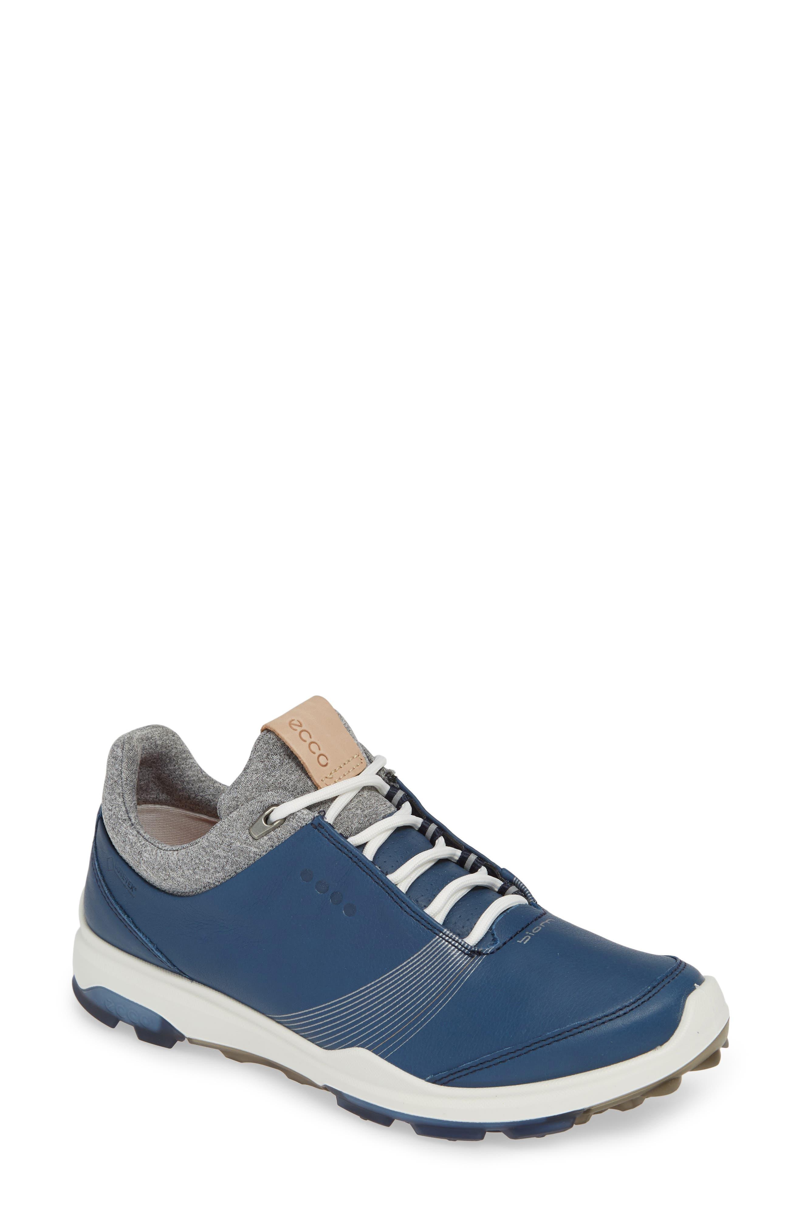 Ecco Biom Hybrid 3 Gtx Golf Shoe, Blue