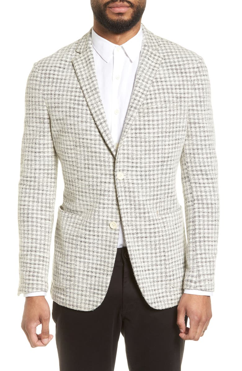 VINCE CAMUTO Dell Aria Slim Fit Unconstructed Sport Coat, Main, color, 020