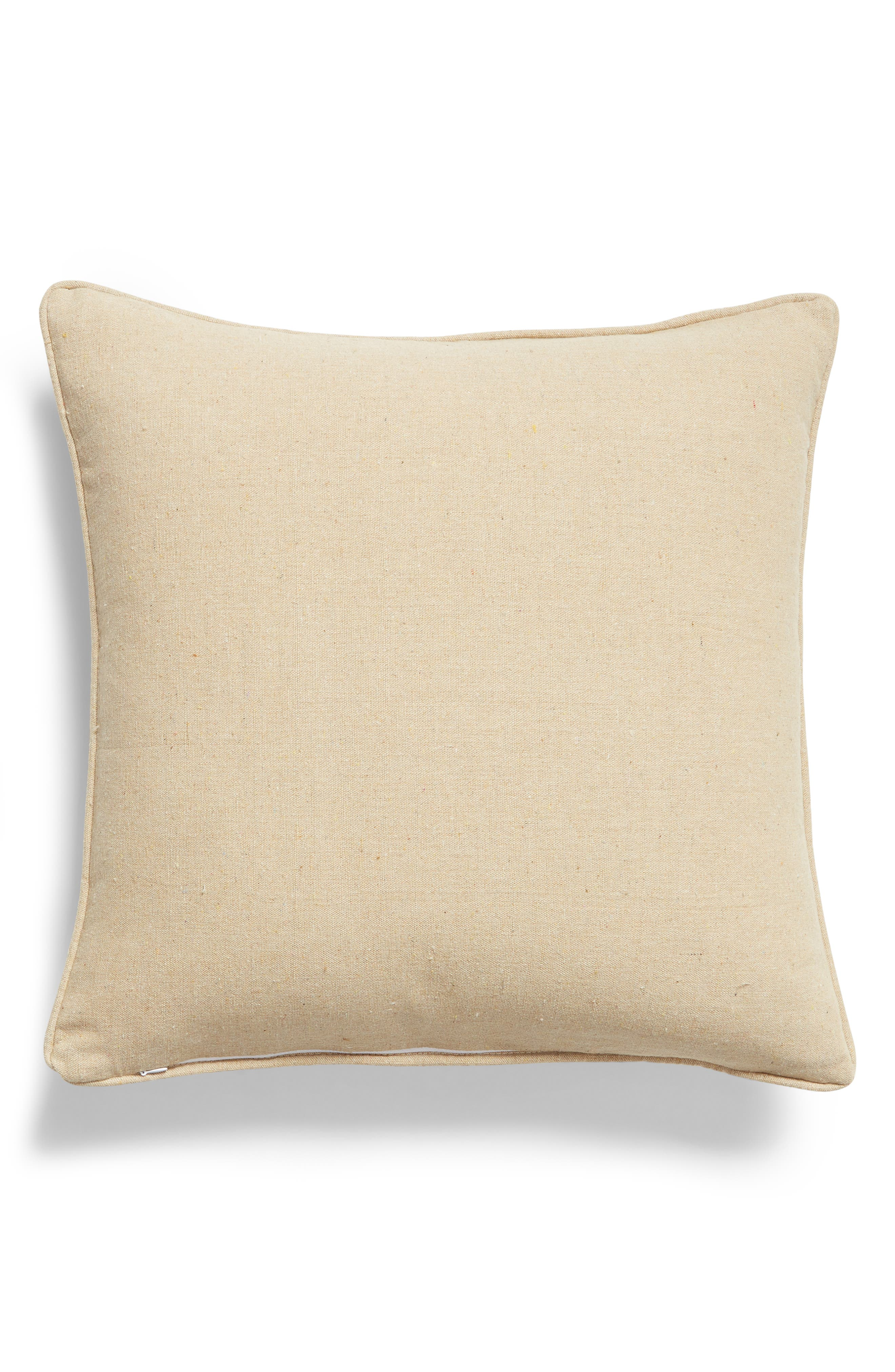 ,                             I Owe to My Mother Accent Pillow,                             Alternate thumbnail 2, color,                             NATURAL