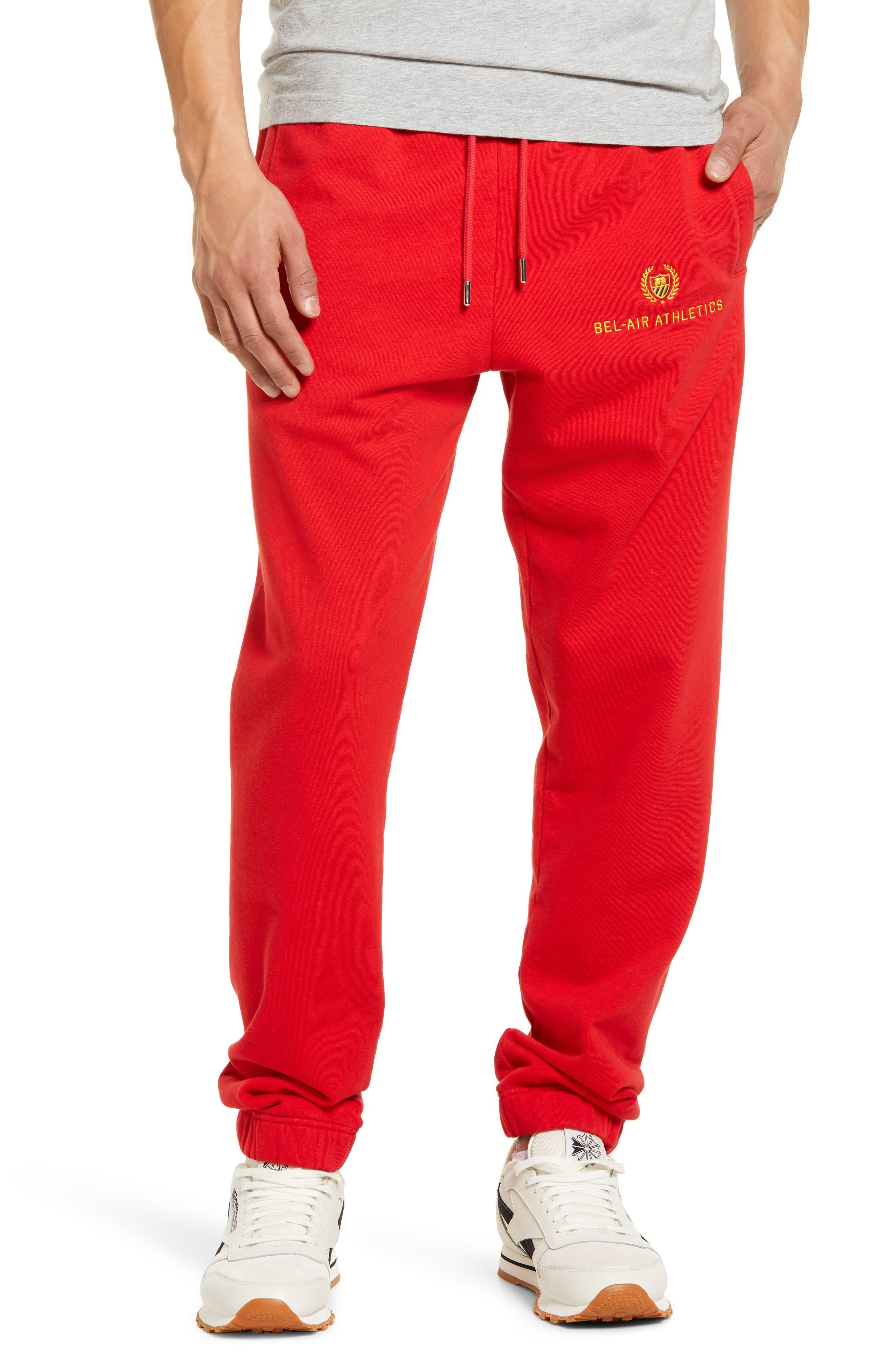 Men's Academy Embroidery Sweatpants