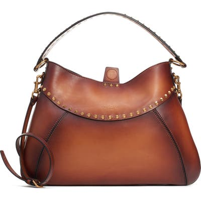 Valentino Garavani Medium Twinkle Studs Hobo Bag - Brown