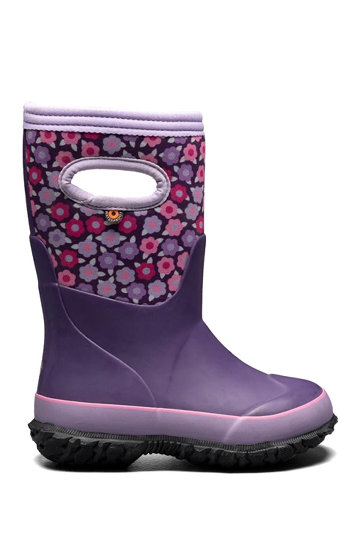 Bogs Grasp Pop Flowers Winter Boot