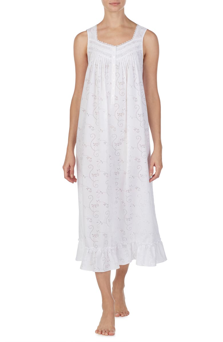 EILEEN WEST Ballet Nightgown, Main, color, 100