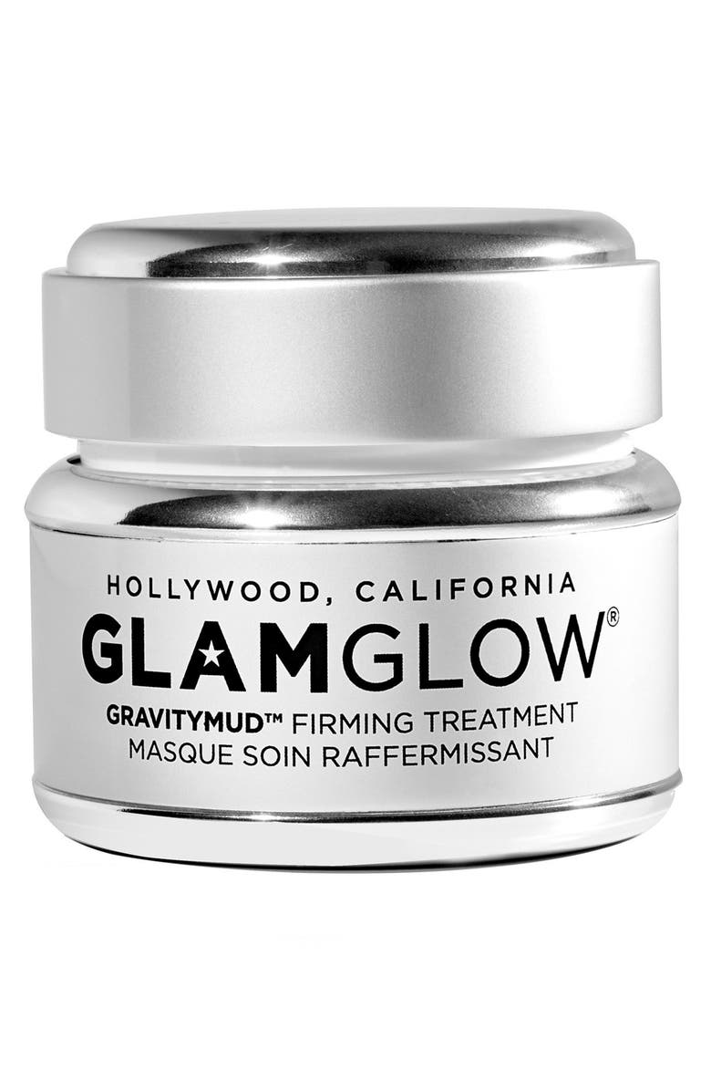 GLAMGLOW<SUP>®</SUP> GLITTERMASK GRAVITYMUD<sup>™</sup> Firming Treatment Mask, Main, color, 000