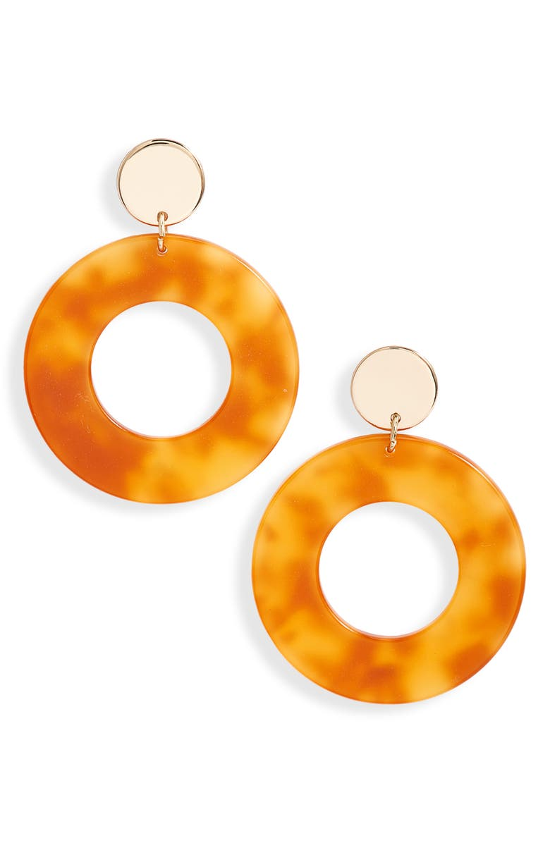 Lele Sadoughi Circle Hoop Earrings Exclusive