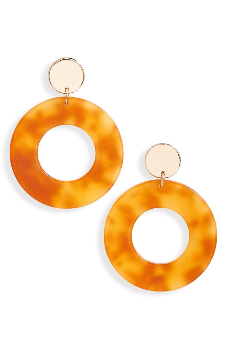Lele Sadoughi Circle Hoop Earrings Exclusive