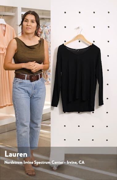 Cozy V-Neck Top, sales video thumbnail