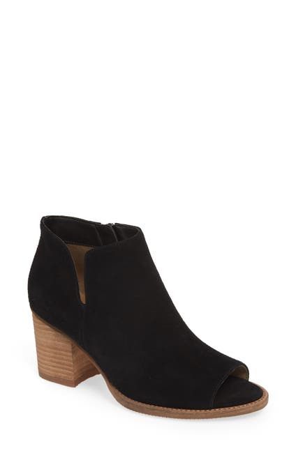 Image of Blondo Nappa Waterproof Peep Toe Bootie