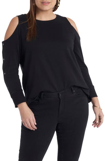 Vince Camuto COLD SHOULDER TOP