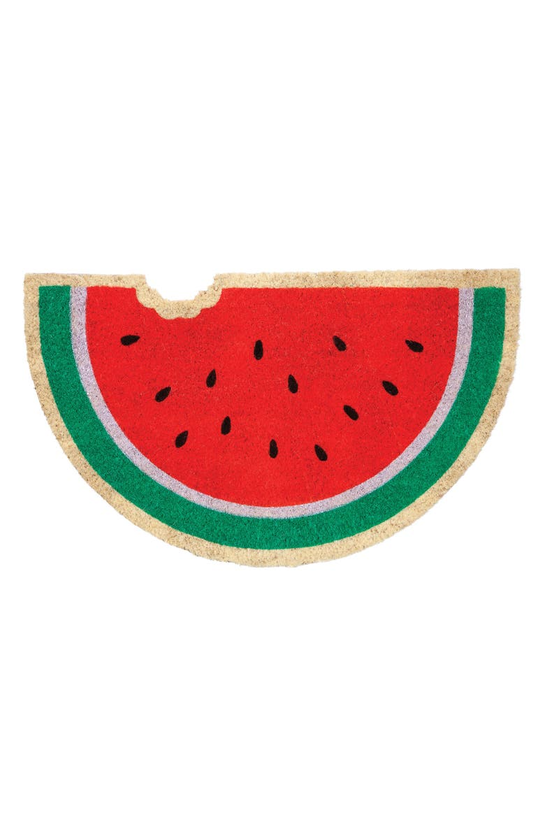 SUNNYLIFE Watermelon Doormat, Main, color, 650