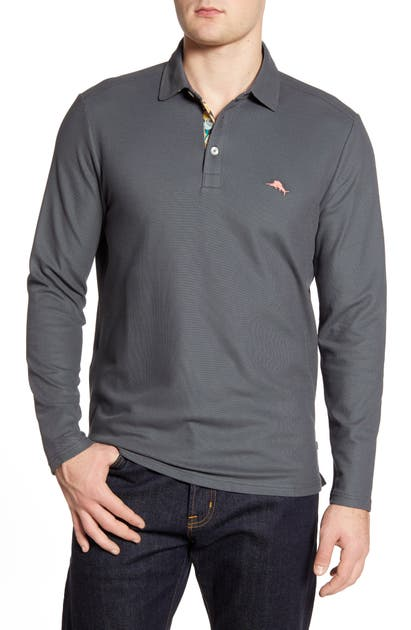 Tommy Bahama Tops LONG SLEEVE POLO