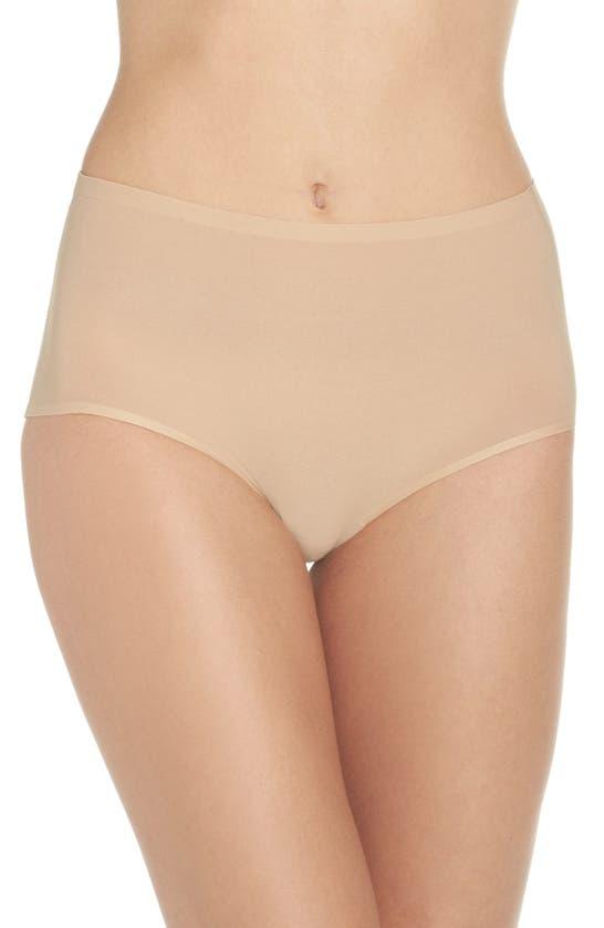 Chantelle Lingerie Soft Stretch High Waist Briefs In Ultra Nude