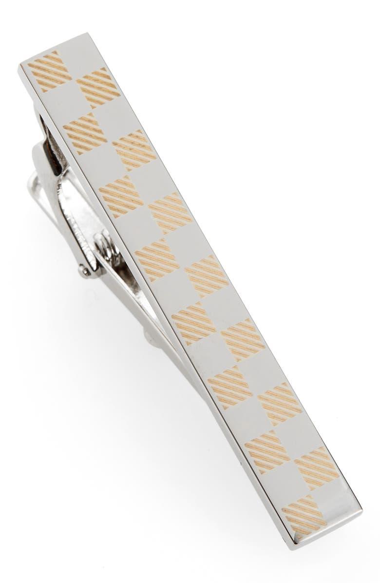 BOSS Tarry Tie Bar, Main, color, SILVER
