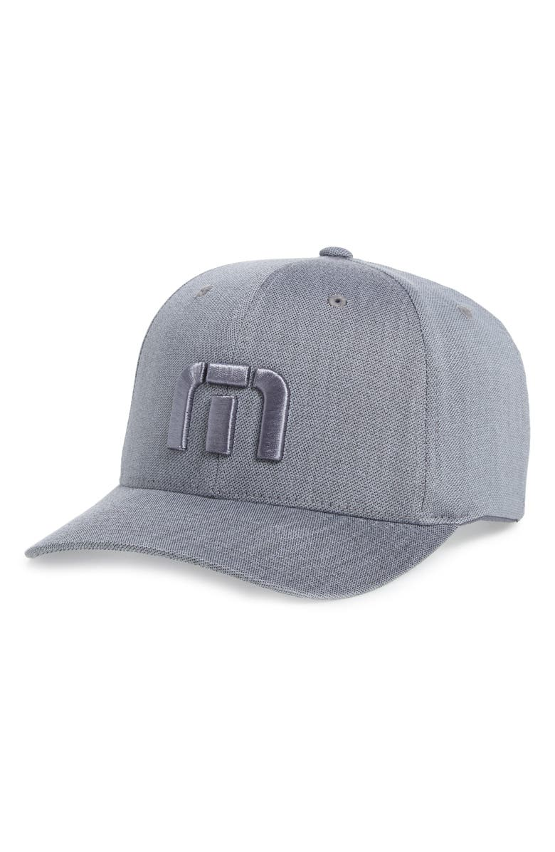 TRAVISMATHEW Leezy Snapback Baseball Cap, Main, color, HEATHER QUIET SHADE