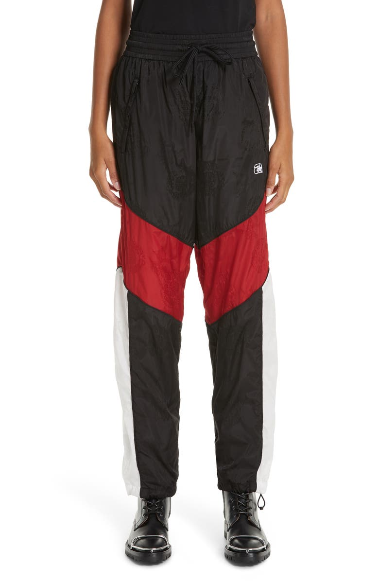 ALEXANDER WANG Windbreaker Track Pants, Main, color, 009
