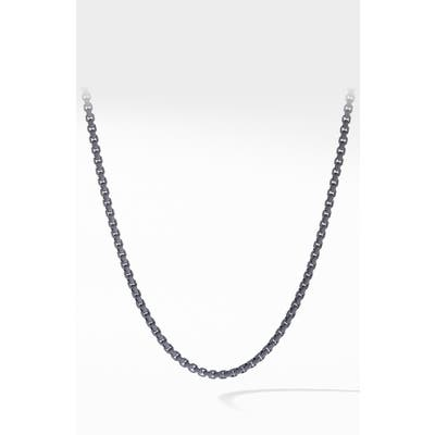David Yurman Box Chain Necklace