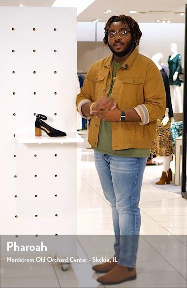 Gemma Ankle Strap Pump, sales video thumbnail