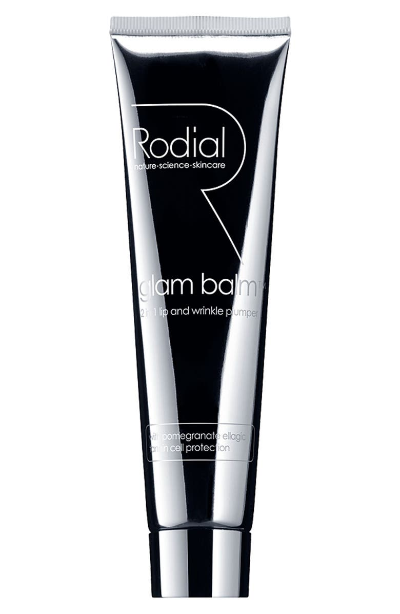 RODIAL 'Glam Balm<sup>™</sup>' 2-in-1 Lip and Wrinkle Plumper, Main, color, 000