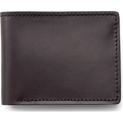 Filson Leather Bifold Leather Wallet - Brown