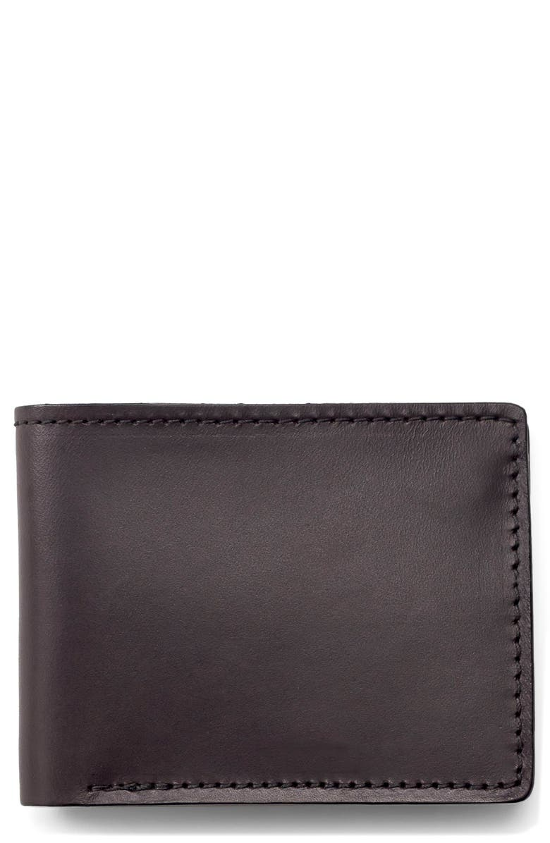FILSON Leather Bifold Leather Wallet, Main, color, 200