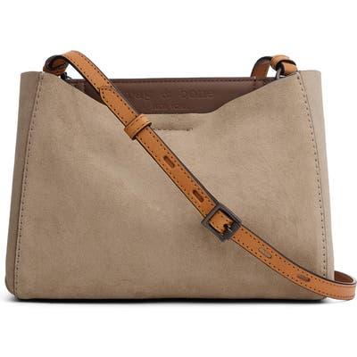 Rag & Bone Passenger Leather Crossbody Bag - Grey