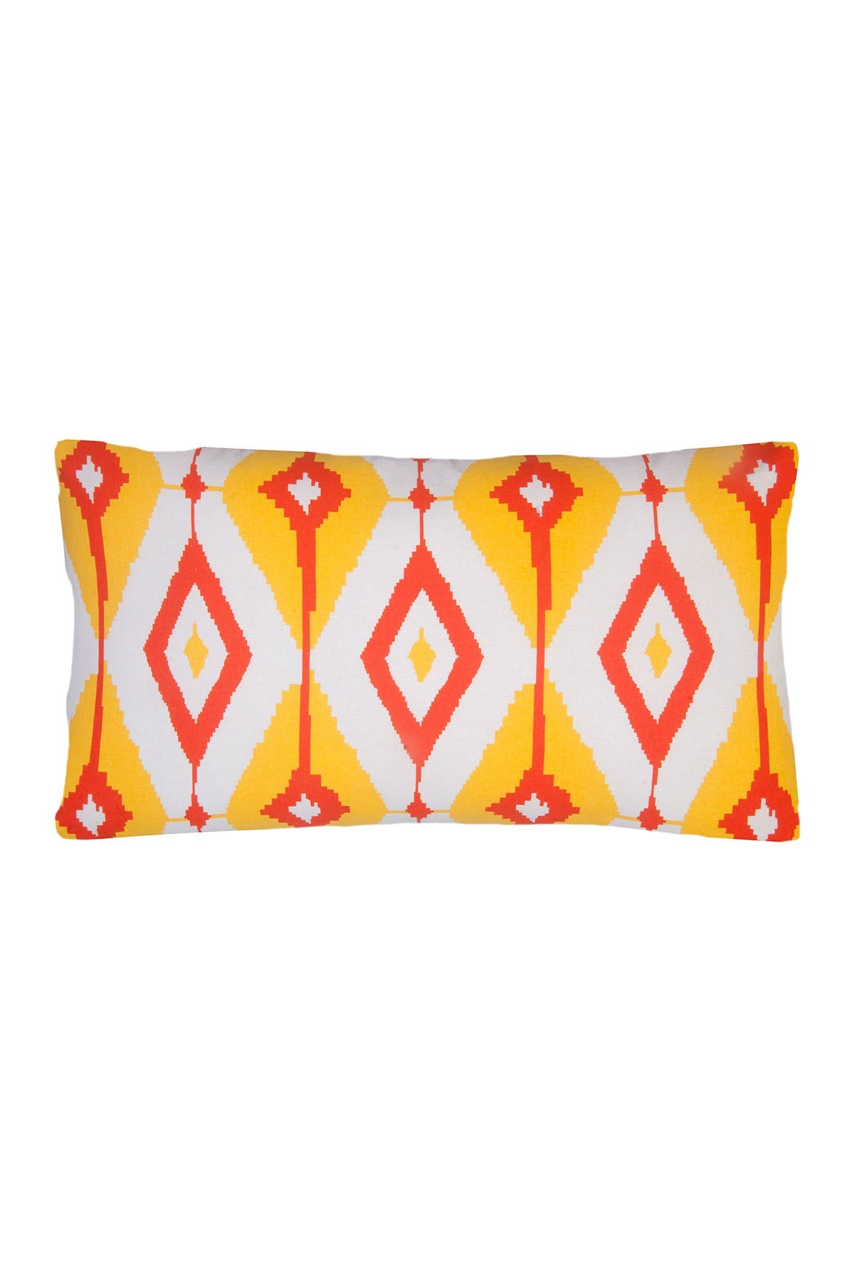 Divine Home Yellow Orange Helios Lumbar Throw Pillow 24 X14 Nordstrom Rack