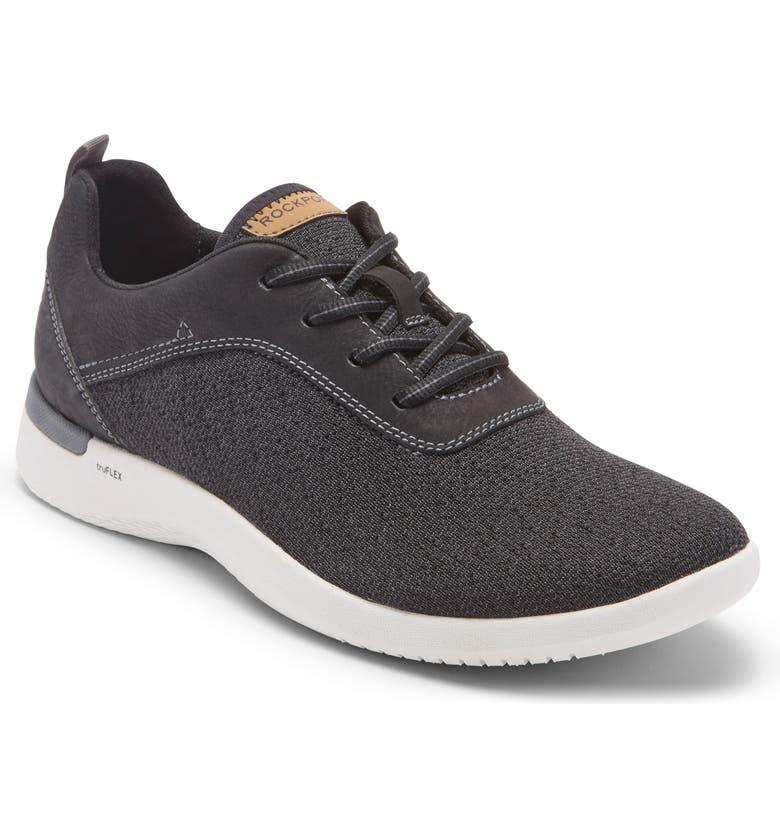 ROCKPORT truFLEX Fly Sneaker, Main, color, BLACK