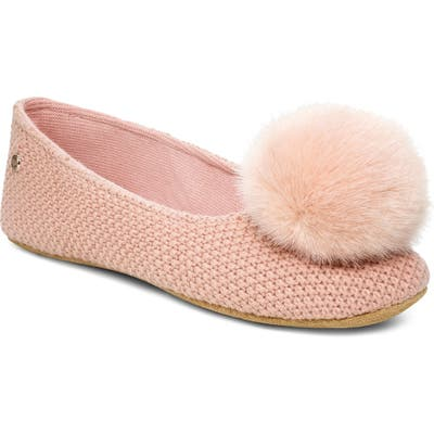 UGG Andi Pompom Slipper, Pink