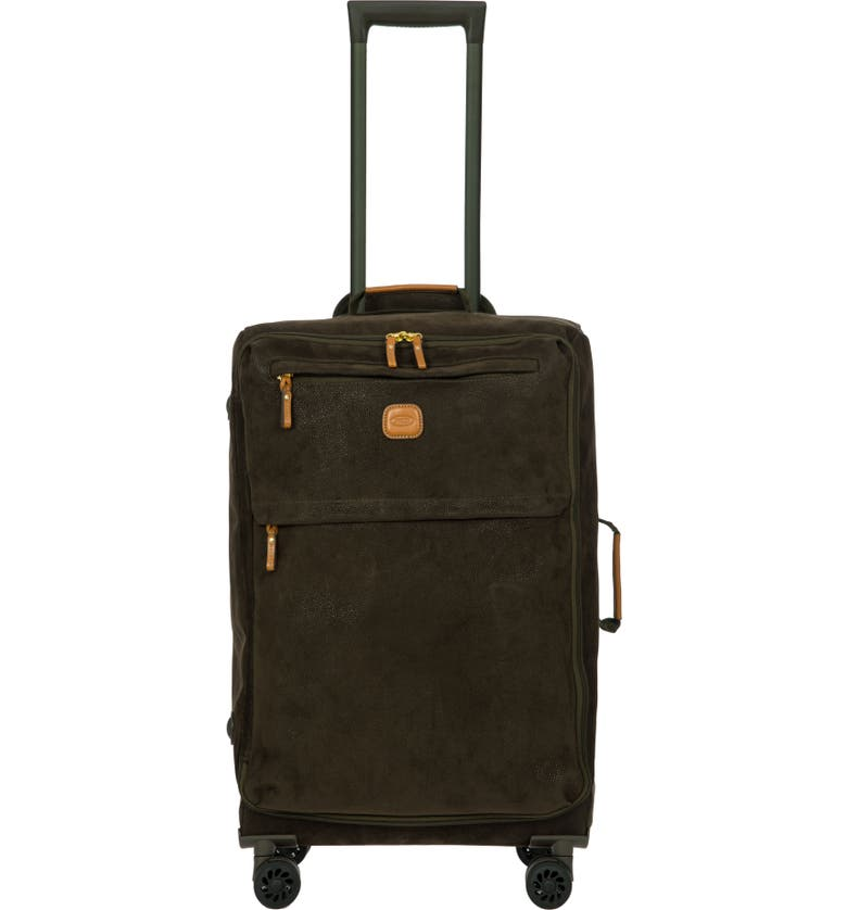 BRIC'S Life Collection Tropea 25-Inch Spinner Suitcase, Main, color, OLIVE