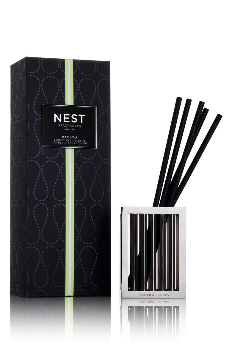 NEST FRAGRANCES Bamboo Liquidless Diffuser, Main, color, NO COLOR
