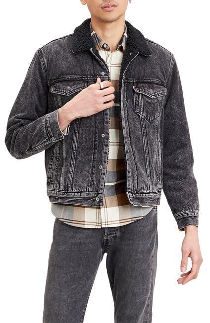 Image of Levi's Levis® Faux Fur Lined Denim Trucker Jacket