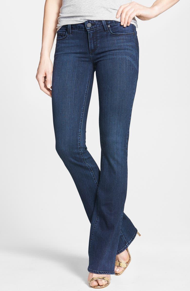 PAIGE Transcend - Skyline Bootcut Jeans, Main, color, 400