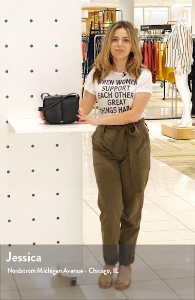 Sac Betty Leather Crossbody Bag, sales video thumbnail
