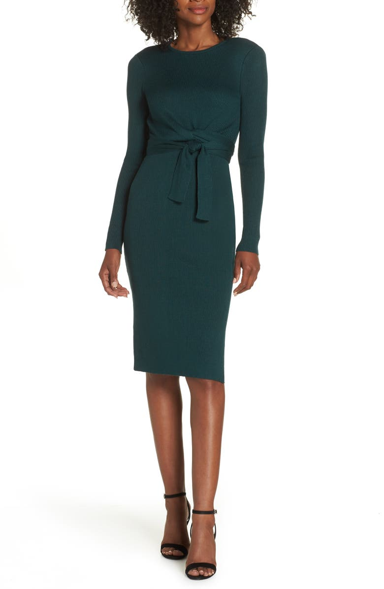 ADELYN RAE Dovie Sweater Dress, Main, color, 307