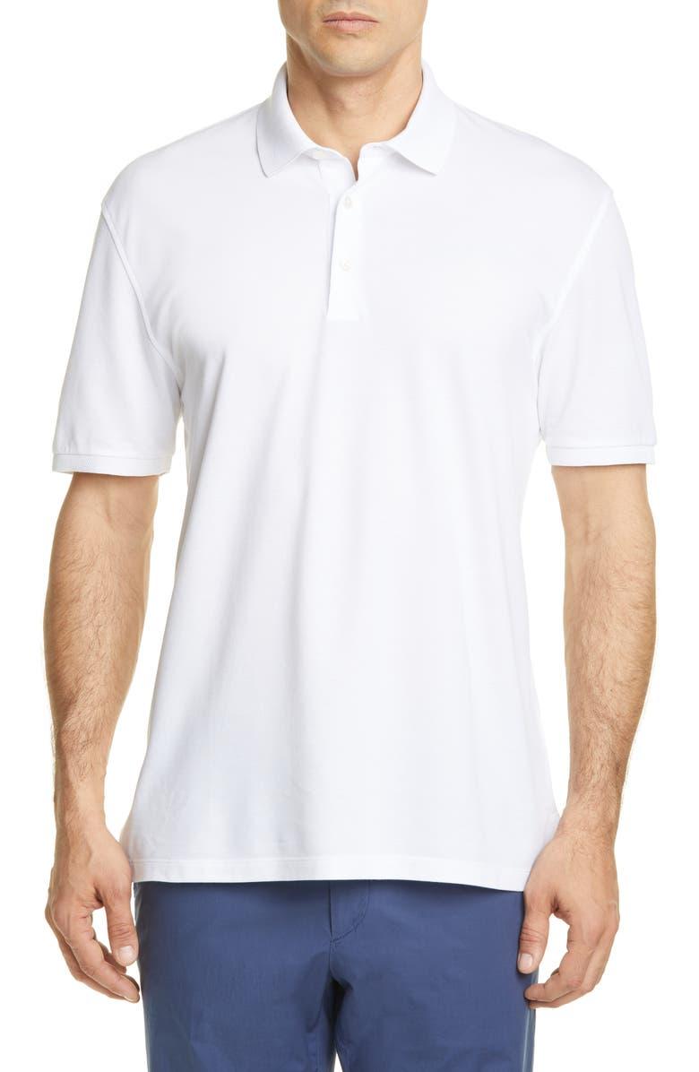 Ermenegildo Zegna Slim Fit Cotton Polo Shirt