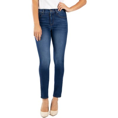Kut From The Kloth Diana Fab Ab High Waist Relaxed Skinny Jeans, Blue