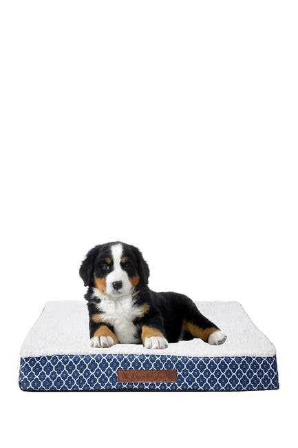 Image of Duck River Textile Angus Trellis Small Orthopedic Memory Foam Pet Bed