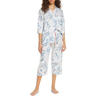 Papinelle Coco Crop Pajamas, Pink