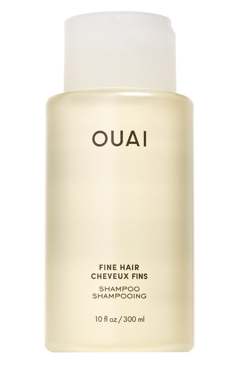 OUAI Fine Shampoo, Main, color, NO COLOR