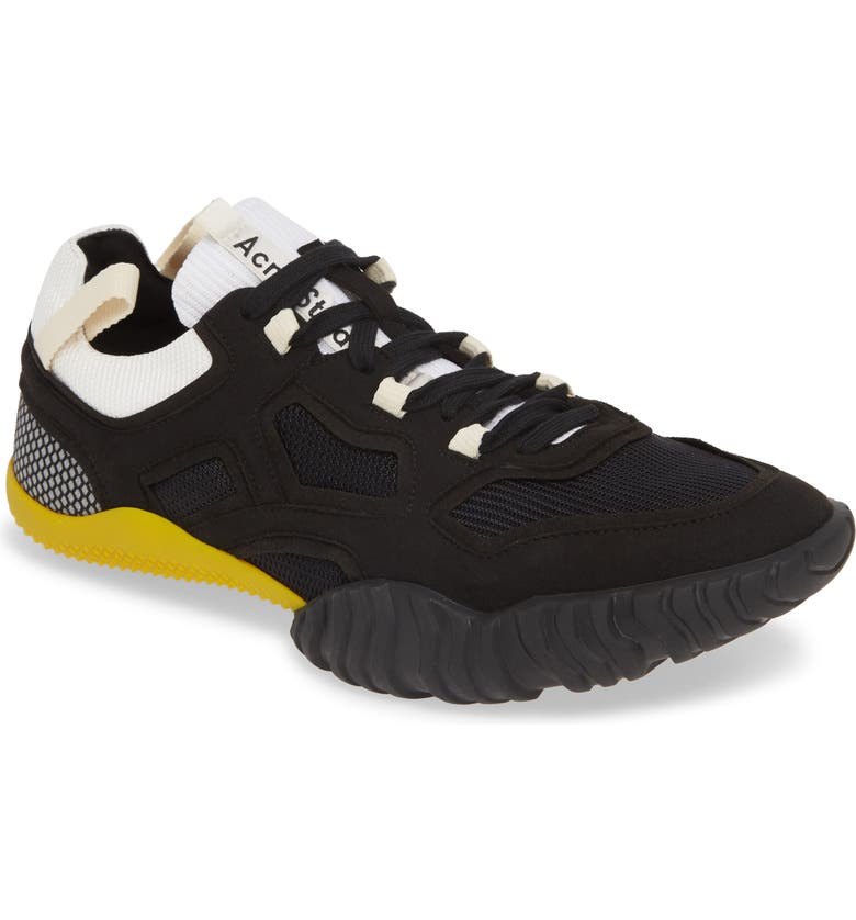 ACNE STUDIOS Berun Sneaker, Main, color, BLACK/ BLACK