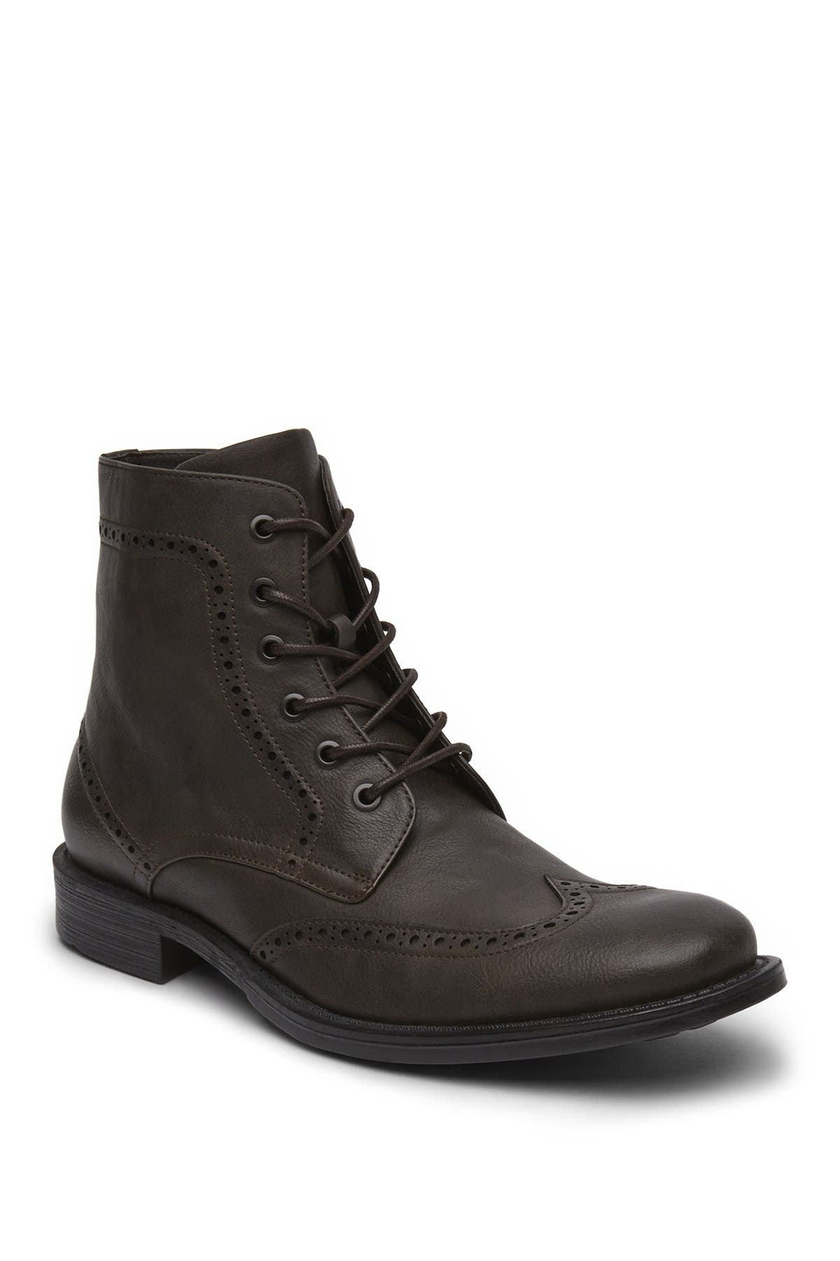 Blind Sided Wingtip Boot