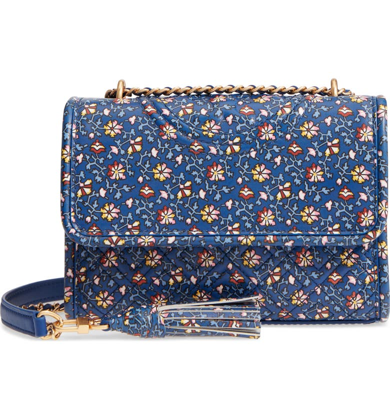 high quality materials united states beautiful in colour Fleming Print Leather Convertible Shoulder Bag