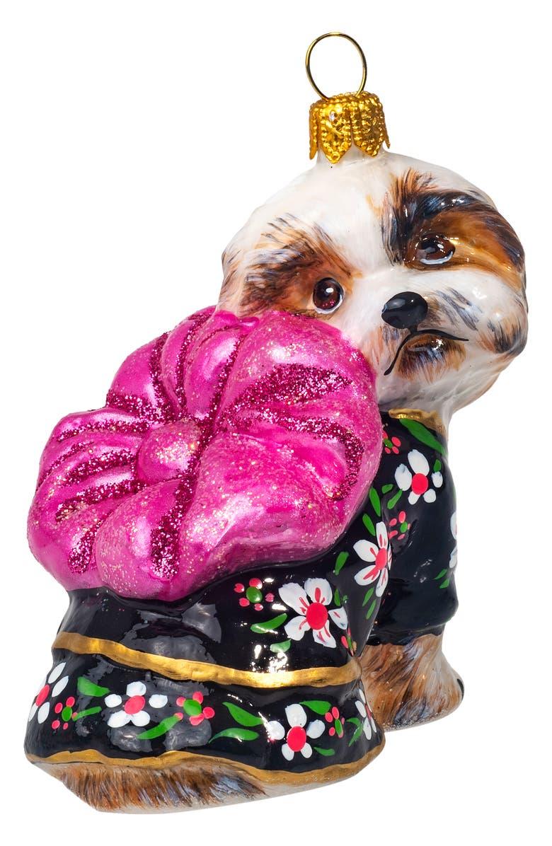 JOY TO THE WORLD COLLECTIBLES Shih Tzu in Silk Kimono Ornament, Main, color, SHIH TZU