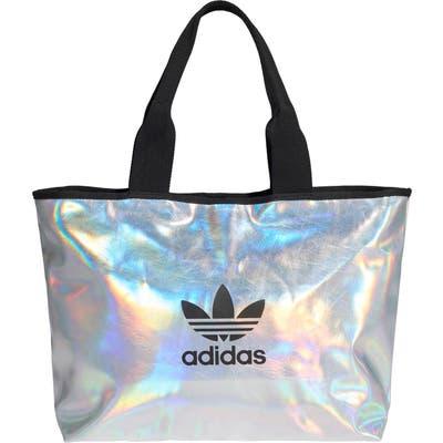 Adidas Originals Logo Metallic Shopper - Metallic