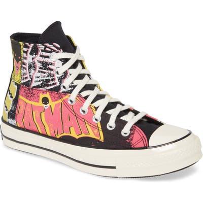 Converse Chuck 70 Hi X Batman Sneaker, Black